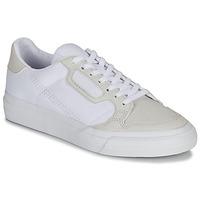 Zapatos Niños Zapatillas bajas adidas Originals CONTINENTAL VULC J Blanco / Beige