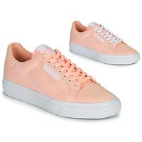 Zapatos Niña Zapatillas bajas adidas Originals CONTINENTAL VULC J Rosa