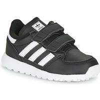 Zapatos Niños Zapatillas bajas adidas Originals FOREST GROVE CF I Negro