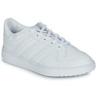 Zapatos Niños Zapatillas bajas adidas Originals Novice C Blanco