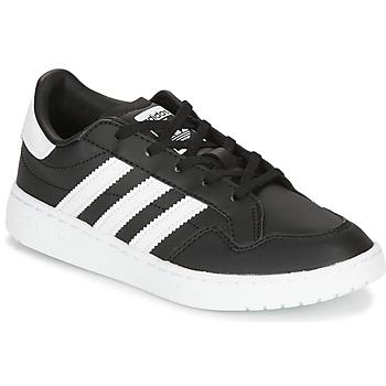 Zapatos Niños Zapatillas bajas adidas Originals Novice C Negro / Blanco