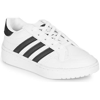 Zapatos Niños Zapatillas bajas adidas Originals Novice C Blanco / Negro