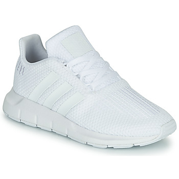 Zapatos Niño Zapatillas bajas adidas Originals SWIFT RUN C Blanco