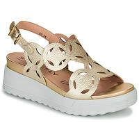 Zapatos Mujer Sandalias Stonefly PARKY 9 Oro