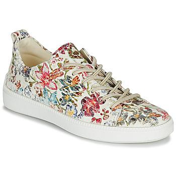 Zapatos Mujer Zapatillas bajas Think TURNA Beige / Rojo / Verde