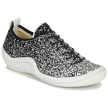 Zapatos Mujer Zapatillas bajas Think KAPSL Negro / Blanco