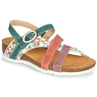 Zapatos Mujer Sandalias Think JULIA Rojo / Verde / Blanco
