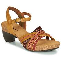 Zapatos Mujer Sandalias Think TRAUDI Amarillo / Rojo