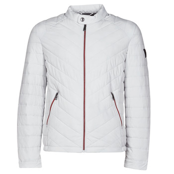 textil Hombre Plumas Guess SUPER FITTED JKT TRAVEL Blanco
