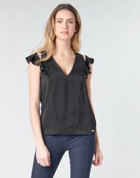 textil Mujer Tops / Blusas Guess SS DAHAB TOP Negro