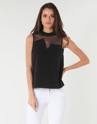 textil Mujer Tops / Blusas Guess SL MAYA TOP Negro