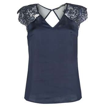 textil Mujer Tops / Blusas Guess SS ILIA TOP Marino