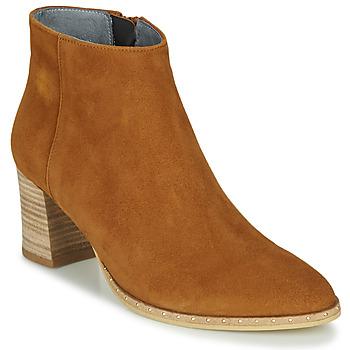 Zapatos Mujer Botines Myma LASTICO Camel