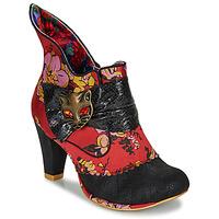 Zapatos Mujer Botines Irregular Choice MIAOW Rojo / Negro