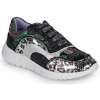 Zapatos Mujer Zapatillas bajas Irregular Choice JIGSAW Negro / Plateado