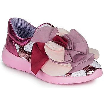 Zapatos Mujer Zapatillas bajas Irregular Choice RAGTIME RUFFLES Rosa