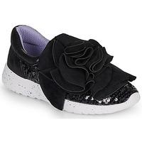 Zapatos Mujer Zapatillas bajas Irregular Choice RAGTIME RUFFLES Negro