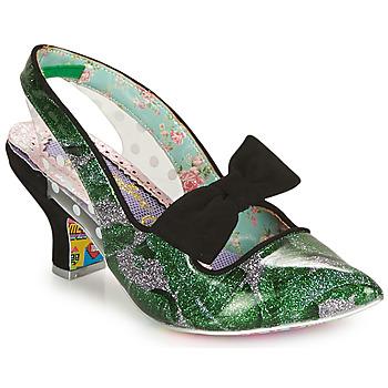 Zapatos Mujer Zapatos de tacón Irregular Choice PARADOX Verde / Negro