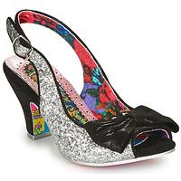 Zapatos Mujer Zapatos de tacón Irregular Choice HIYA SYNTH Plateado / Negro