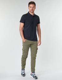 textil Hombre Pantalón cargo Le Temps des Cerises ALBAN Kaki