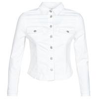 textil Mujer chaquetas denim Le Temps des Cerises LILLY Blanco