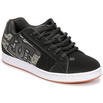 Zapatos Hombre Zapatillas bajas DC Shoes NET SE Negro / Camuflaje