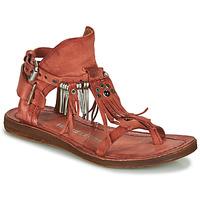 Zapatos Mujer Sandalias Airstep / A.S.98 RAMOS Rojo