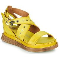 Zapatos Mujer Sandalias Airstep / A.S.98 LAGOS 2 Amarillo