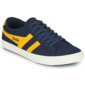 Zapatos Hombre Zapatillas bajas Gola VARSITY Marino / Amarillo