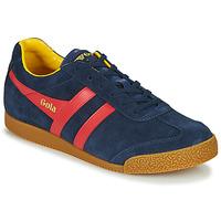 Zapatos Hombre Zapatillas bajas Gola HARRIER Marino / Rojo