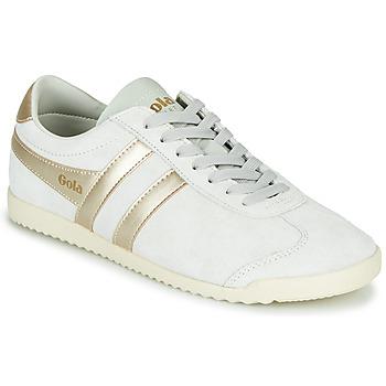 Zapatos Mujer Zapatillas bajas Gola BULLET PEARL Blanco / Oro