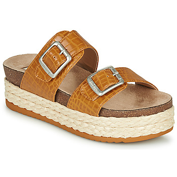 Zapatos Mujer Zuecos (Mules) MTNG  Cognac