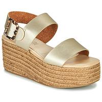 Zapatos Mujer Sandalias MTNG GARISSAN Oro