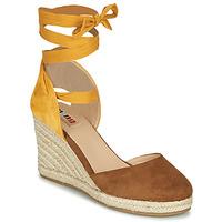Zapatos Mujer Sandalias MTNG GELLO Marrón / Mostaza