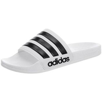 Zapatos Hombre Chanclas adidas Originals Adilette Cloudfoam Blanco,Negros
