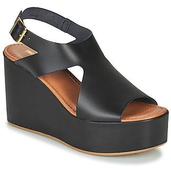 Zapatos Mujer Sandalias Sweet Lemon IJOX Negro