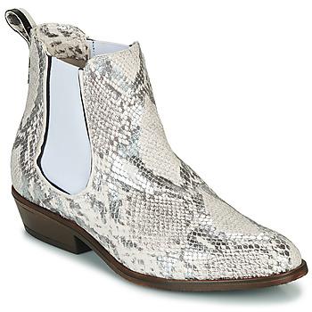 Zapatos Mujer Botas de caña baja Sweet Lemon DAWI Crema