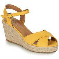 Zapatos Mujer Sandalias Tom Tailor  Amarillo