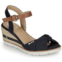 Zapatos Mujer Sandalias Tom Tailor 8090403 Marino