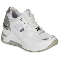 Zapatos Mujer Zapatillas bajas Tom Tailor  Blanco / Plata