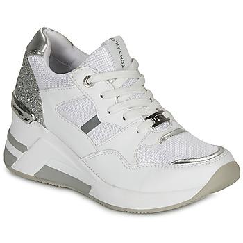 Zapatos Mujer Zapatillas bajas Tom Tailor 8091512 Blanco / Plata