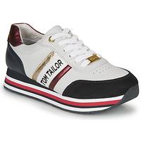 Zapatos Mujer Zapatillas bajas Tom Tailor  Blanco / Azul / Rojo