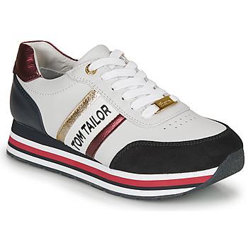 Zapatos Mujer Zapatillas bajas Tom Tailor 8095504 Blanco / Azul / Rojo
