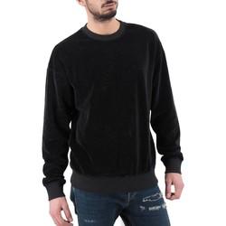 textil Hombre sudaderas Madson | Sudadera Scesa Shoulder, Negra | MDS_DU19534_NERO Noir