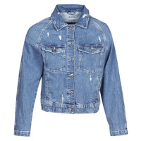 textil Mujer chaquetas denim Esprit ESPRILA Azul / Medium