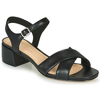 Zapatos Mujer Sandalias Clarks SHEER35 STRAP Negro