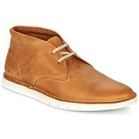 Zapatos Hombre Derbie Clarks FORGE STRIDE Marrón