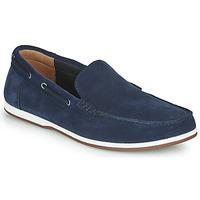 Zapatos Hombre Zapatos náuticos Clarks MORVEN SUN Marino