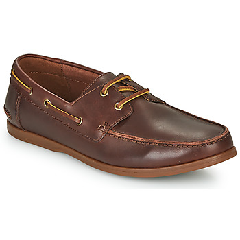 Zapatos Hombre Derbie Clarks PICKWELL SAIL Marrón