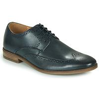 Zapatos Hombre Derbie Clarks STANFORD LIMIT Marino